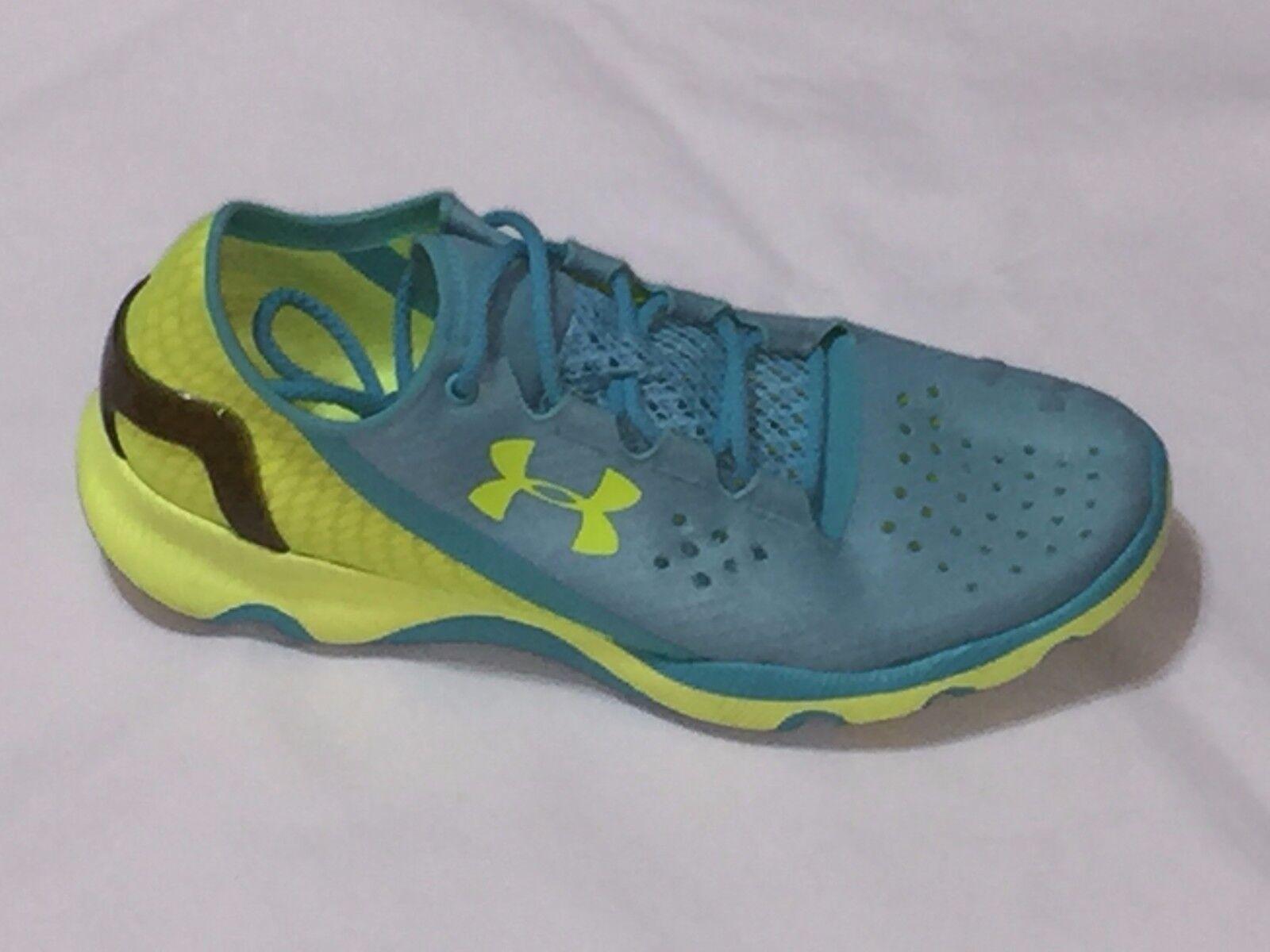 Nueva Under mujer 8.5 sua deportivos apollotraining zapatos Verde/AmarilloTamaño  8.5 mujer 8f15b1