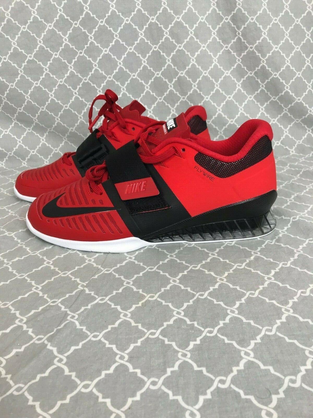 Nike Romaleos 3 Scarpe di peso  Nuova scatola Rossa  85933 603 Retail  200  prezzi bassi di tutti i giorni