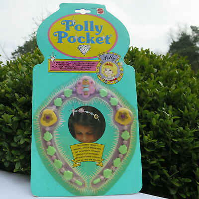 Spielzeug Mode-, Spielpuppen & Zubehör Painstaking Mini Polly Pocket New Princess Polly's Sparkling Headband 1992 Juwel Haarreifen Complete Range Of Articles