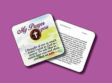 """""""My Prayer For You"""" Poem / 1 Cross Coin / Genuine US Coin -Carded Penny -sku 501"""