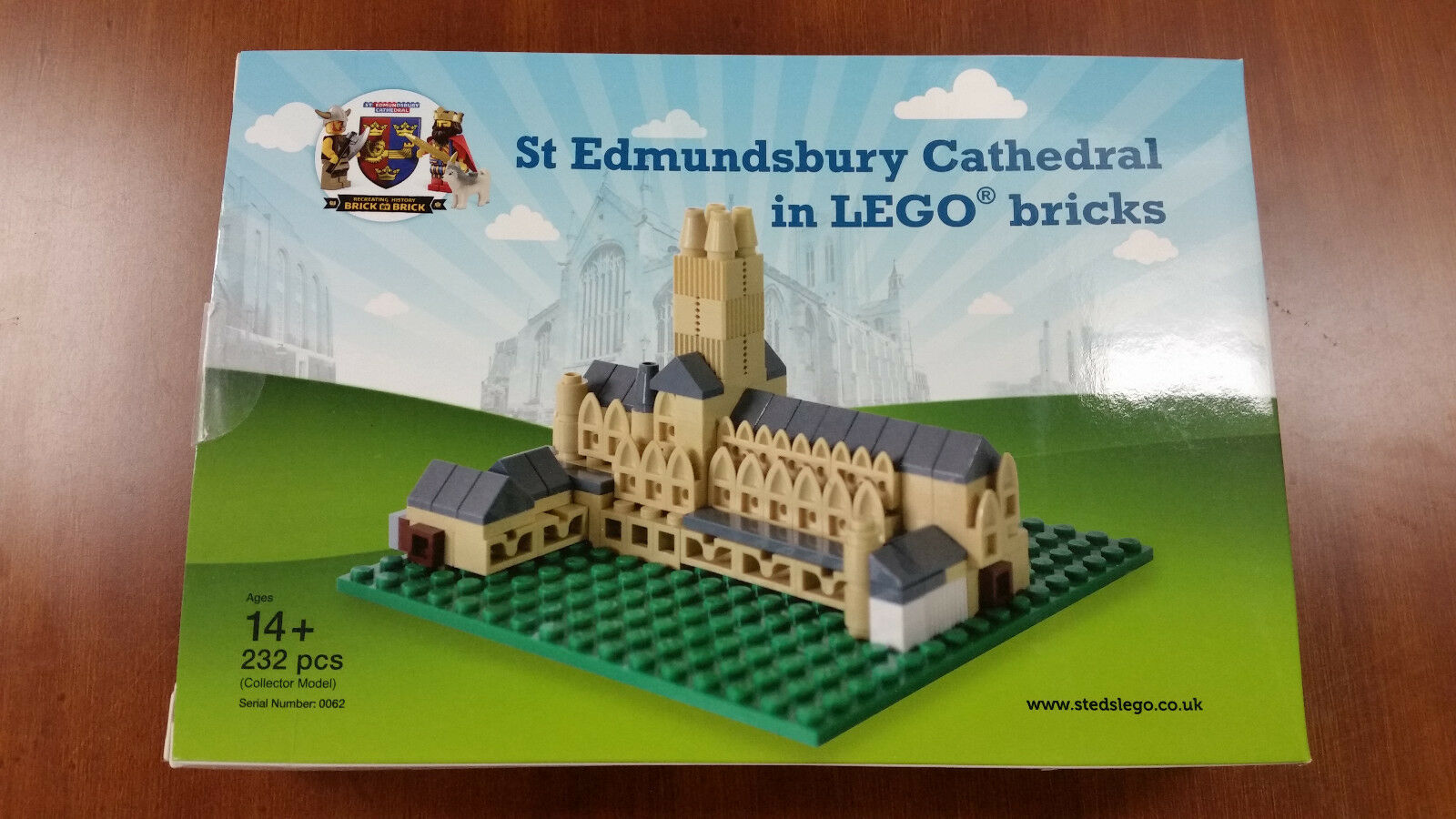 LEGO CERTIFIED PROFESSIONAL SET - St. Ed's Cathedral