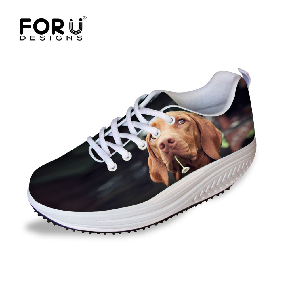 Animal Printed Woman Swing shoes Girls Walking Toning shoes Sneakers Trainers