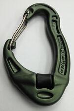 DMM Revolver Wiregate Carabiner - Military Olive - Pulley Wheel Karabiner - Army