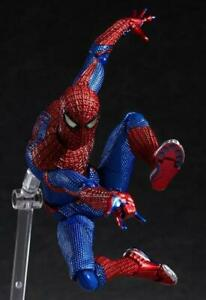 Figma-199-Marvel-Super-Hero-Spiderman-Action-Figure-PVC-Doll-Toys-15cm-NIB