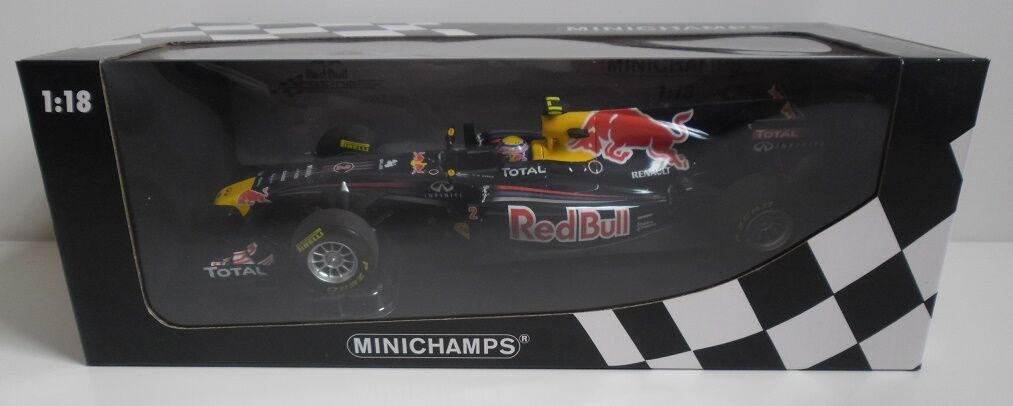 Minichamps rouge Bull Racing Renault Car 2011 Mark Webber 1 18 WEC champion