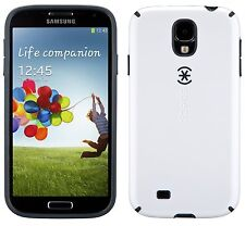 Speck CandyShell SAMSUNG S4 - WHITE/CHARCOAL**GENUINE RETAIL PACKED**
