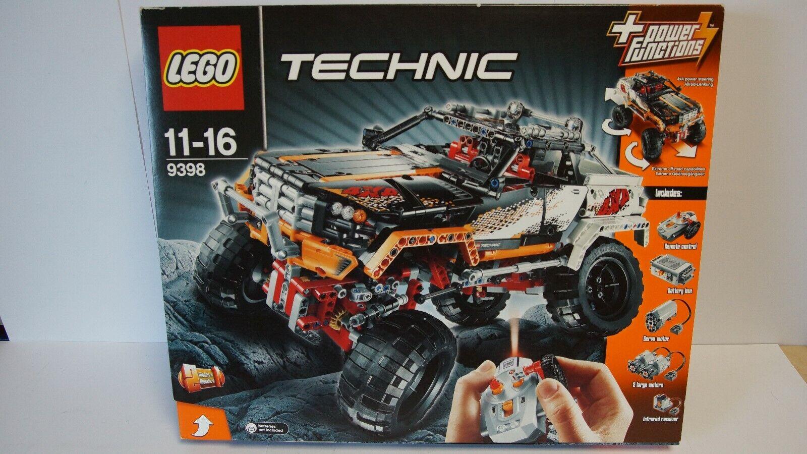 Lego 9398 - Technik - 4x4 Offroader - NEUWERTIG - in OVP