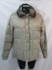 Burton Snowboard Jacket Womens M Tan Puffer Jacket Down Jacket Winter Jacket