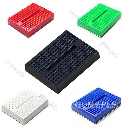 Hot 10pcs Mini Solderless Prototype Breadboard 170 Tie-points for Arduino Shield