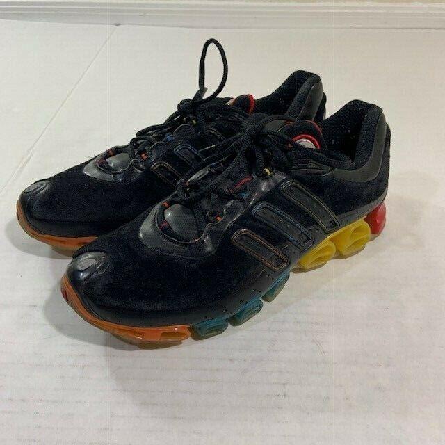 Adidas A3 BOUNCE correr Megabounce rara  Entrenamiento Zapato MultiColor Arco Iris 8.5