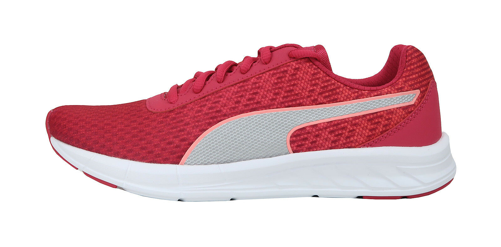 Puma Women Shoes Comet Love Potion White Comfort Light Weight Fushia Pink