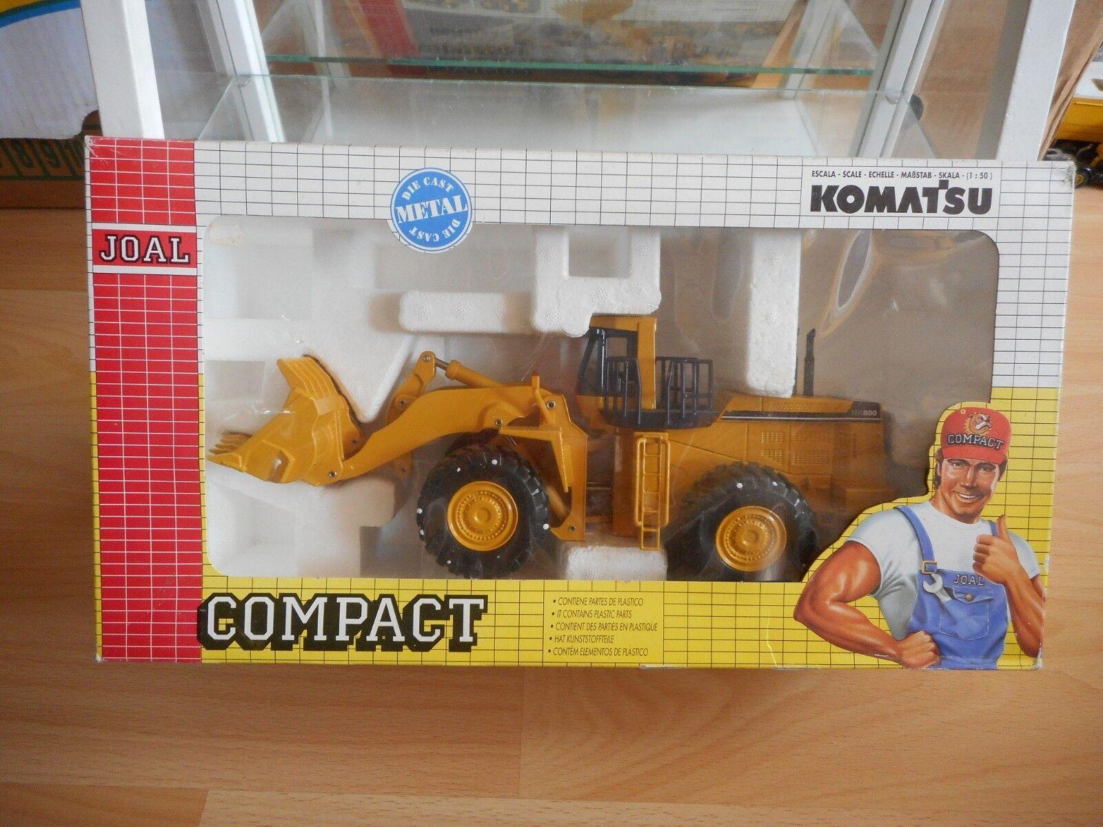 Joal Komatsu WA 800 Wheel loader in Dark amarillo on 1 50 in Box (Ref 198)
