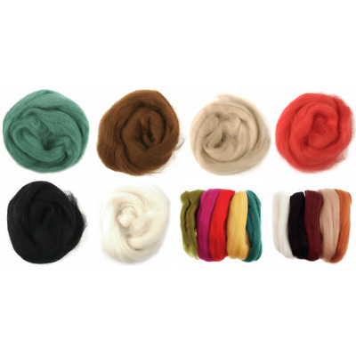 COFFEE TRIMITS Natural 100/% Wool Roving For Needle Felting 10g