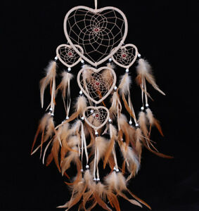 Handmade-Dream-Catcher-with-feathers-car-or-wall-hanging-decoration-ornament
