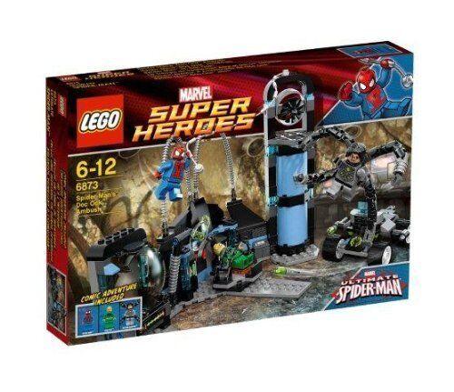 Lego Marvel súper Heroes 6873 Spider-Man Doc Ock ™ Emboscada Nuevo Emb. Orig.