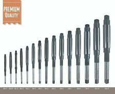 15 Pcs Set Adjustable Hand Reamer Size Hv To H11 14 Inch To 1116 Inch