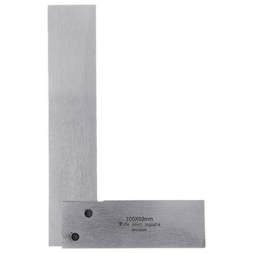 Machinist Square 90 Degree Right Angle Ruler for Engineer Precision Measure #JD