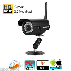 1080p ip netzwerk wlan kamera 2 0mp berwachungskamera. Black Bedroom Furniture Sets. Home Design Ideas