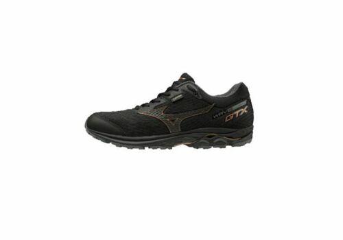 Mizuno Wave Rider GTX Men/'s Running Shoes Black x Gold J1GC181970 20J