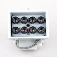 Indoor&outdoor 8 Led 263 Ft Night Vision Ir Illuminator For Cctv Camera Security