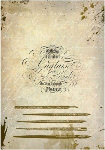 Decoupage-Bastelpapier-Softpapier-Serviettentechnik-Vintage-Shabby-12306