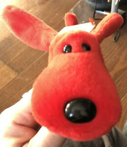 RARE-RETIRED-1996-TY-Beanie-Baby-ROVER-W-PVC-Pellets-and-collectible-Errors