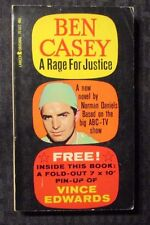 1962 BEN CASEY Rage For Justice 1st Lancer Paperback FN+ NO Pin-Up TV Drama
