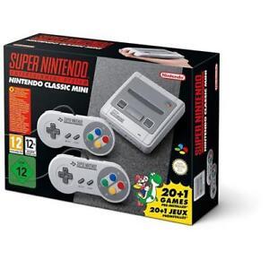 Super-Nintendo-Mini-SNES-Classic-Entertainment-System-Retro-Console-BRAND-NEW