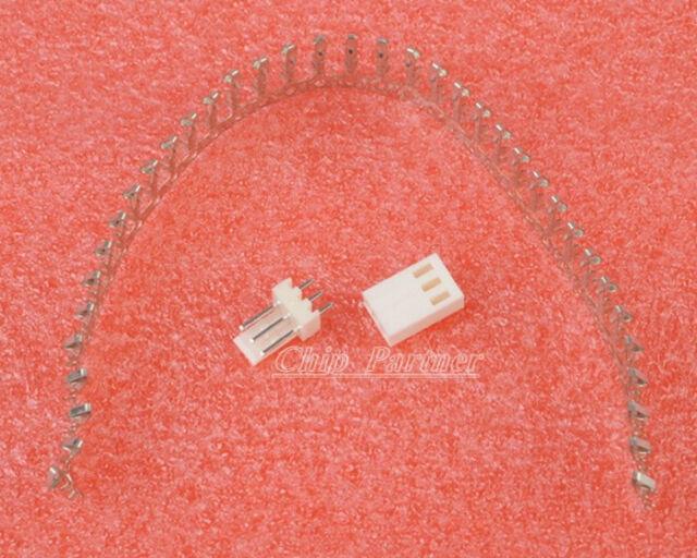 50pcs KF2510-3P 2.54mm Pin Header+Terminal+Housing Connector Kits