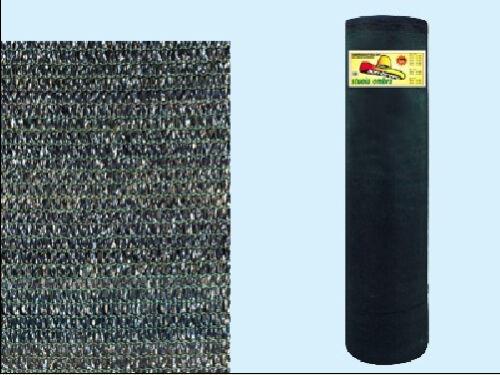 Rotolo Rete ombra telo 90/% ombreggiante frangisole 100 mt altezza 4 mt Verde