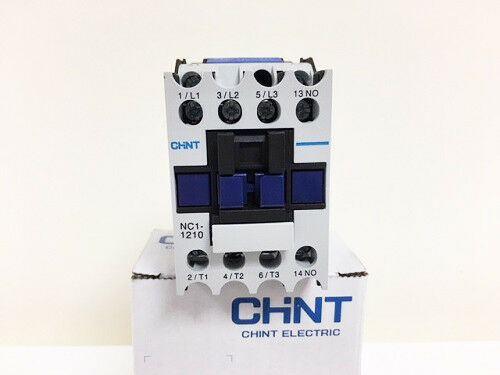 Chint Contactor 240V 65A//30Kw AC3 2NO 2NC 4P 4 Main Poles