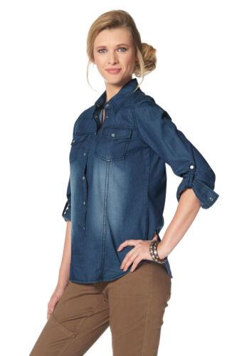 SALE/%/%/% NEU!! Tamaris Jeansbluse blue used