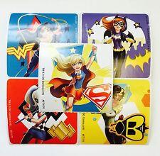 15 DC Comics Super hero Girls Stickers Party Favors Teacher Supply Wonder Woman