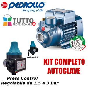 Autoclave Aumento Pressione Acqua Presscontrol Regolabile 1 2 3 Bar