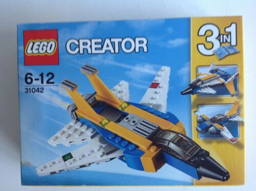 31042 3 in 1 Plane Airplane New Boxed Set. LEGO Creator Super Soarer 2016