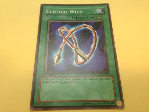 YuGiOh Legend of Blue-Eyes White Dragon LOB Original 1st Edition nrMint//Used