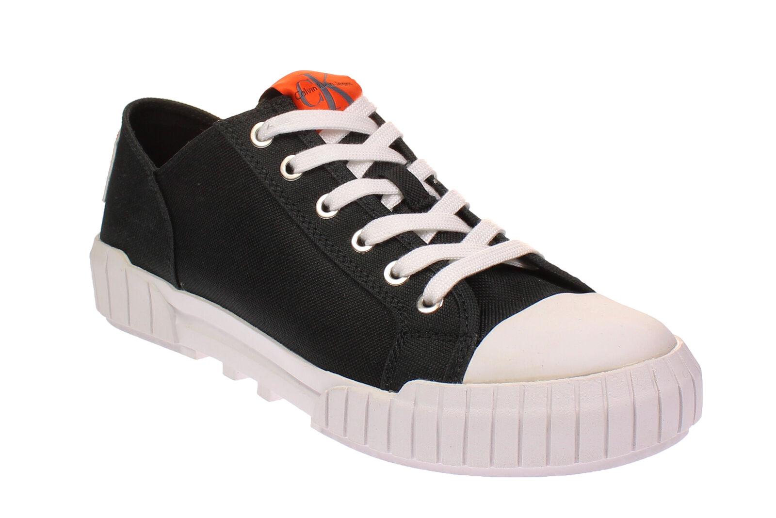 Tiempo limitado especial Calvin Klein r8815 Bianca-señora zapatos-cortos-Black