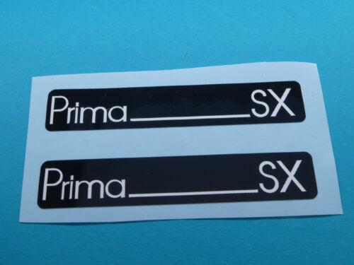Hercules Prima SX Trittbrett Aufkleber Dekor Schriftzug Verkleidung Sticker