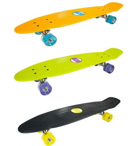 D-STREET POLYPROP GRANDE Cruiser Skateboard Penny Longboard  28 inch