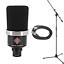 thumbnail 1 - New Neumann TLM-102 MT Black Large Diaphragm Studio Condenser Microphone Mic