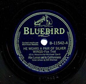 ABE-LYMAN-039-s-CALIFORNIANS-1942-Bluebird-B-11542-He-Wears-a-Pair-of-Silver-Wings