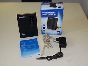 AVM-FRITZ-BOX-modem-DSL-Wlan-Router-in-scatola-originale-2-ANNI-GARANZIA