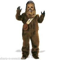 Kids Boys Fur Chewbacca Star Wars Book Day Halloween Fancy Dress Costume Outfit