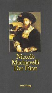 Der-Fuerst-insel-taschenbuch-von-Machiavelli-Niccolo-Buch-Zustand-gut
