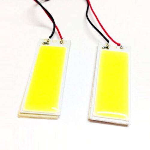 2pcs Xenon HID 36 COB LED Dome Map Light Bulb Car Interior Panel Lamp White