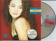 CORINA - Met jou CD SINGLE 2TR CARDSLEEVE 1994 (MARIAH CAREY Without You COVER)
