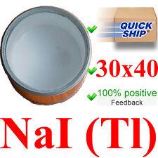 Detector de la radiación centelleo cristal NAI (TL) 30 x 40 mm Gamma...