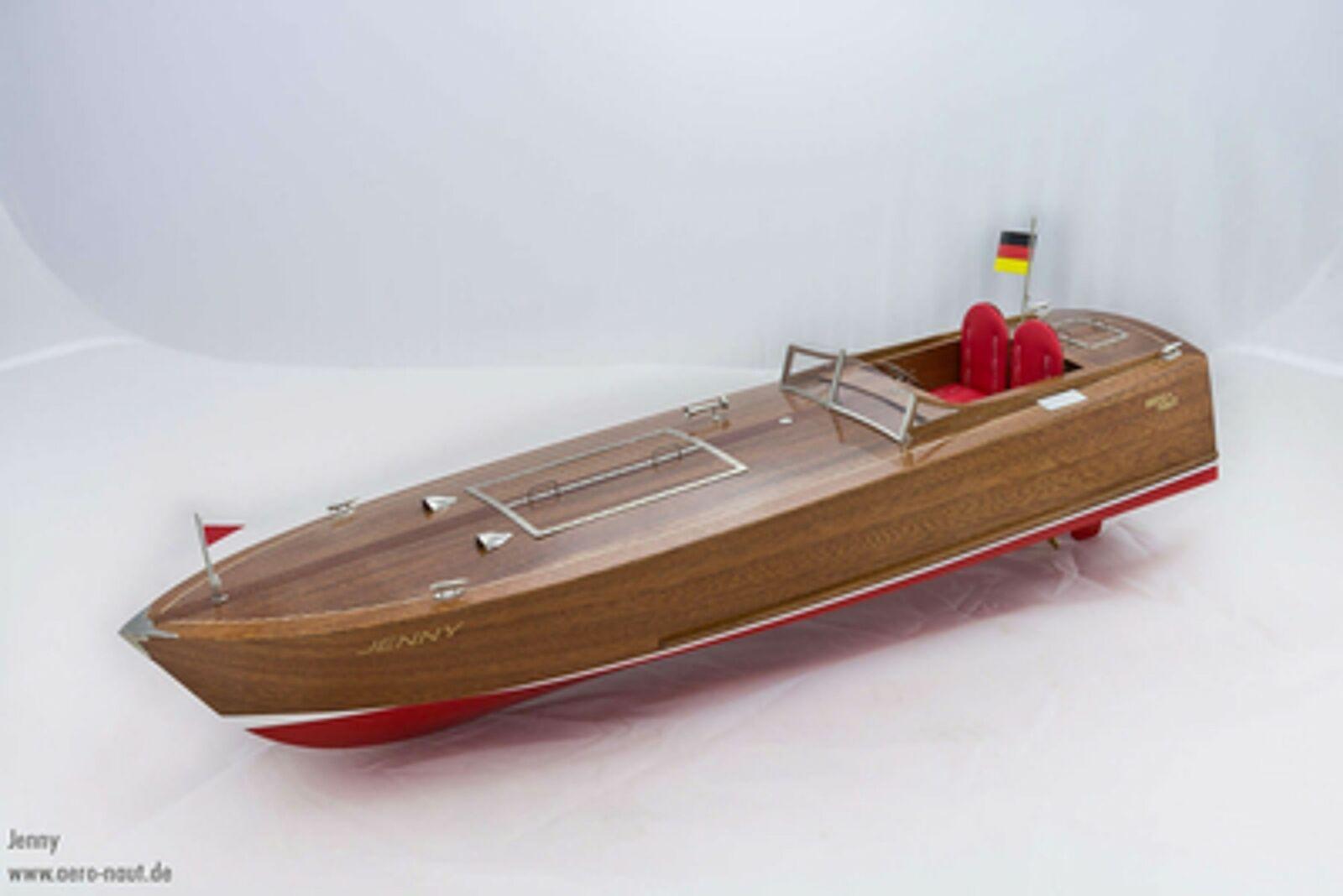 Jenny Sport bota 73cm aero-naut motor barco RC-sport bota caja de herramientas holzbaukasten