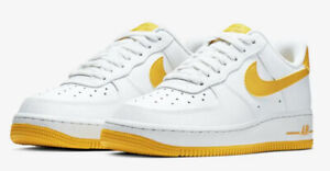Details about Nike Air Force 1 07 Low AH0287 103 White Bright Citron Womens 6 11