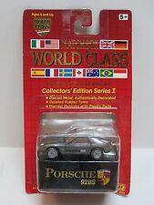 Matchbox World Class PORSCHE 928S in Gray Collector's Edition Series 1 RR Tires